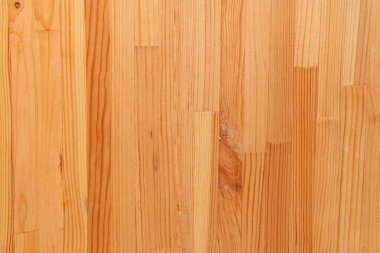 Background of light brown, wooden laminate flooring, top view stock vector