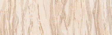 Pastel beige, textured background with vertical spills, top view, banner stock vector