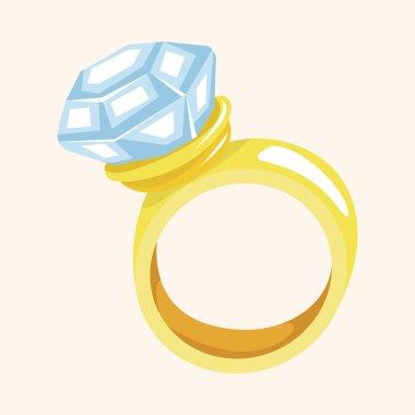 diamond ring theme elements