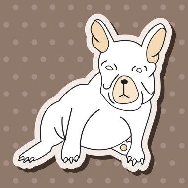 "Картина, постер, плакат, фотообои ""элементы темы мультфильм животных собаки"", артикул 71375527"