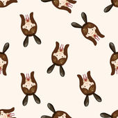 casino playboy bunny , cartoon seamless pattern background