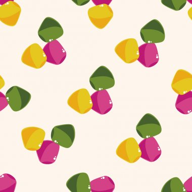 candy , cartoon seamless pattern background