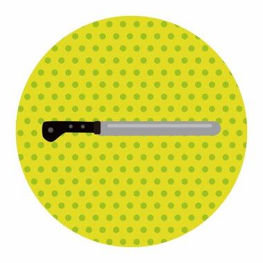 kitchenware knife theme elements