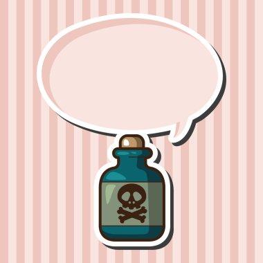 Toxic chemicals theme elements