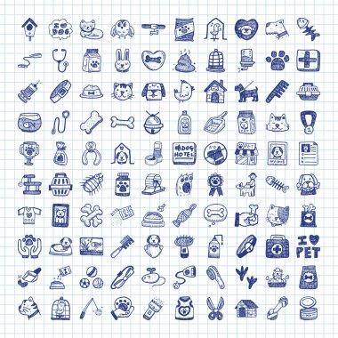 doodle pet icons