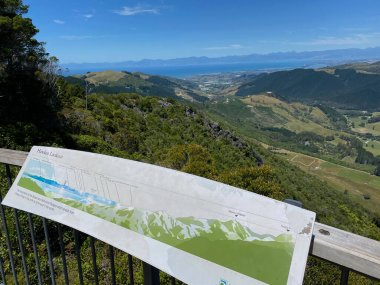 Hawkes Lookout at Takaka Hill, Nelson region, New Zealand