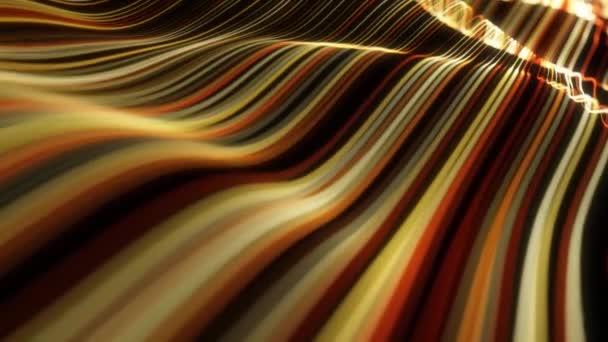 Vzory abstraktních světelných řetězců Proudící smyčka pozadí