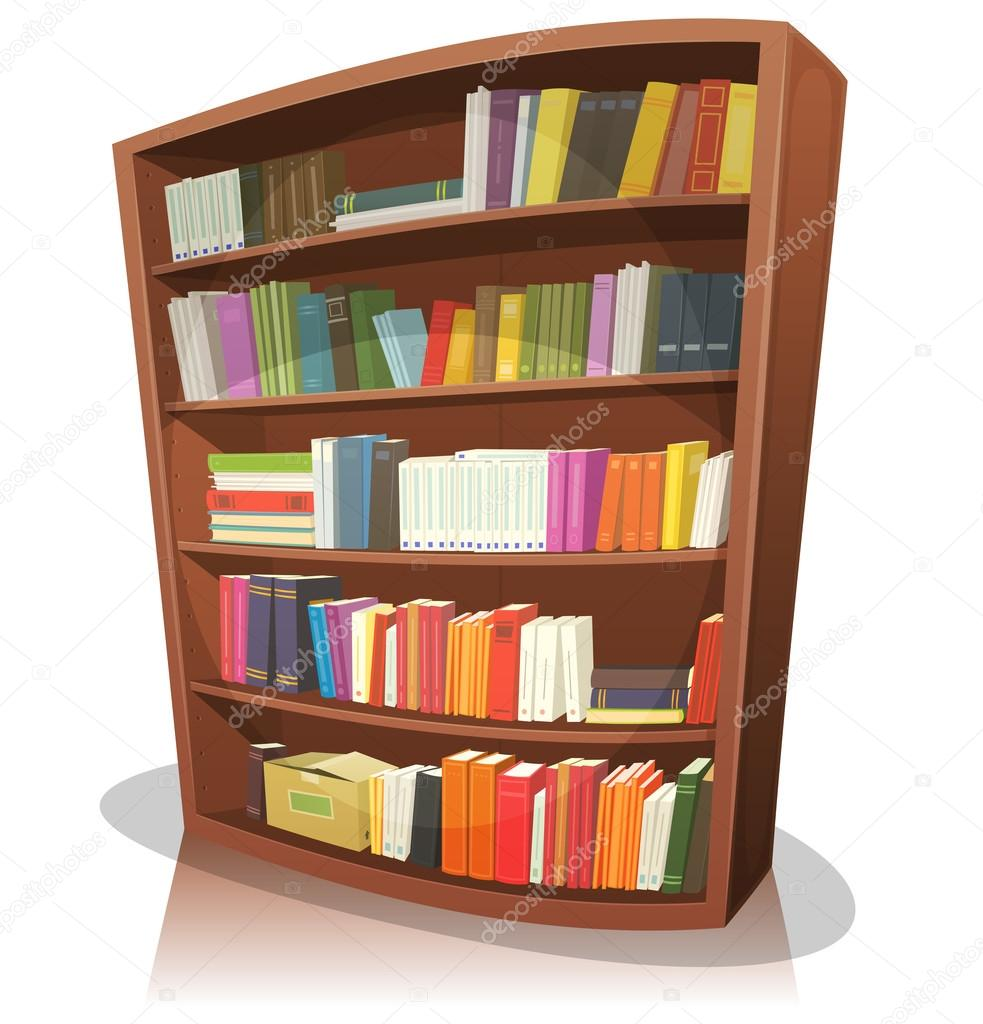 Estanter a biblioteca de dibujos animados archivo im genes vectoriales benchyb 62774931 - Almacen de libreria ...