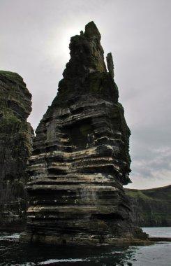Cliffs of Moher detail