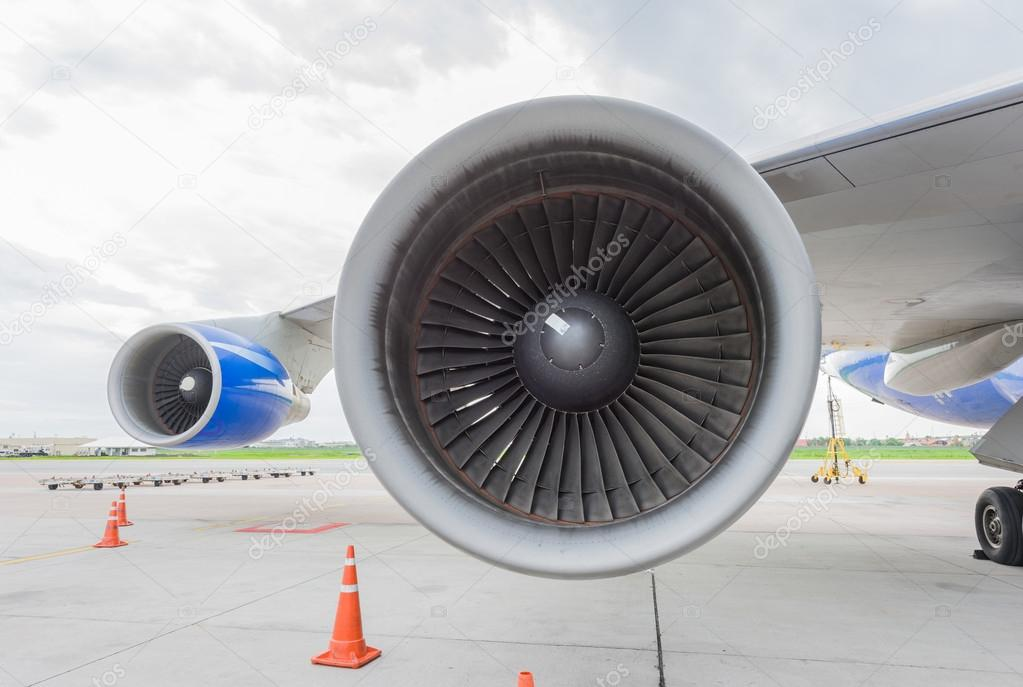 A big turbine blades
