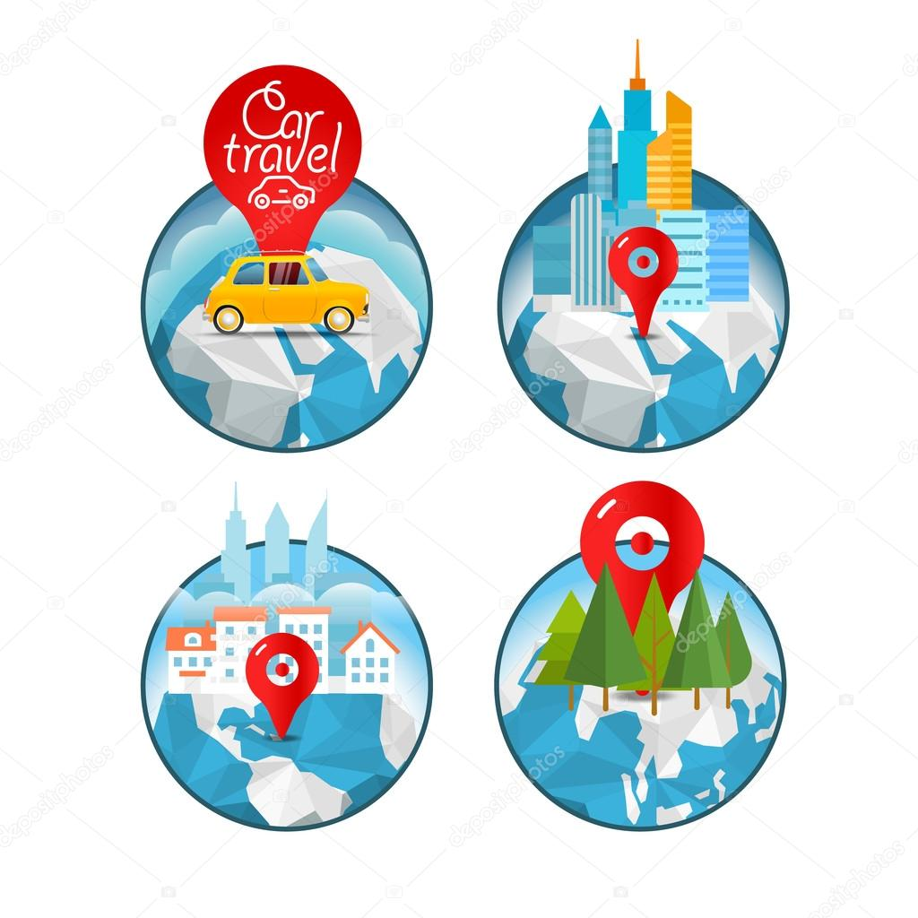 vacation travelling concept vector travel illustration take vac