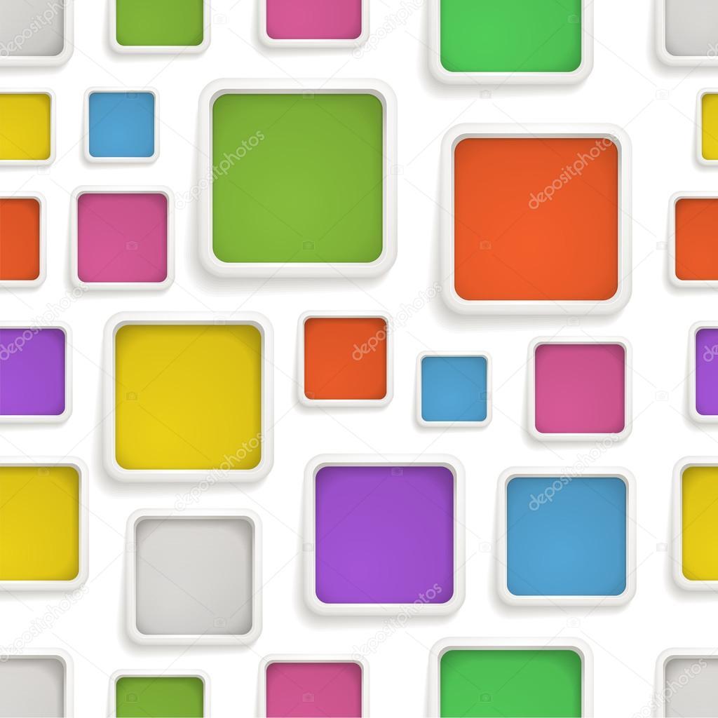 Antecedentes de cuadros de color. Plantilla para un texto — Archivo ...