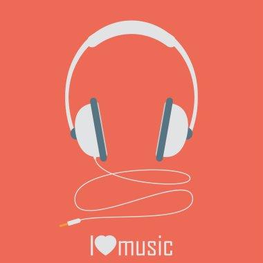 Headphones with cord
