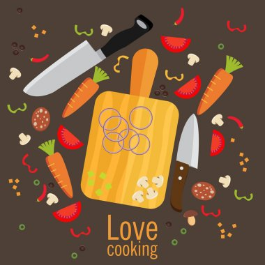 Cooking poster design