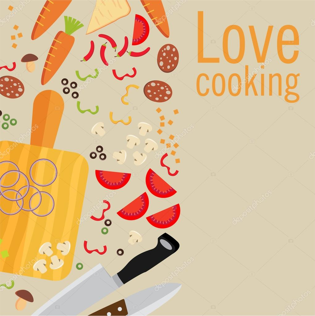 Poster design vector download - Cooking Poster Design Vector Illustration Vector By Mix3r