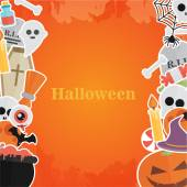 Halloween Banner Background — Stock Vector © Mix3r #125753562