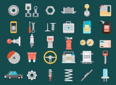 illustrations repair of machines and equipment.