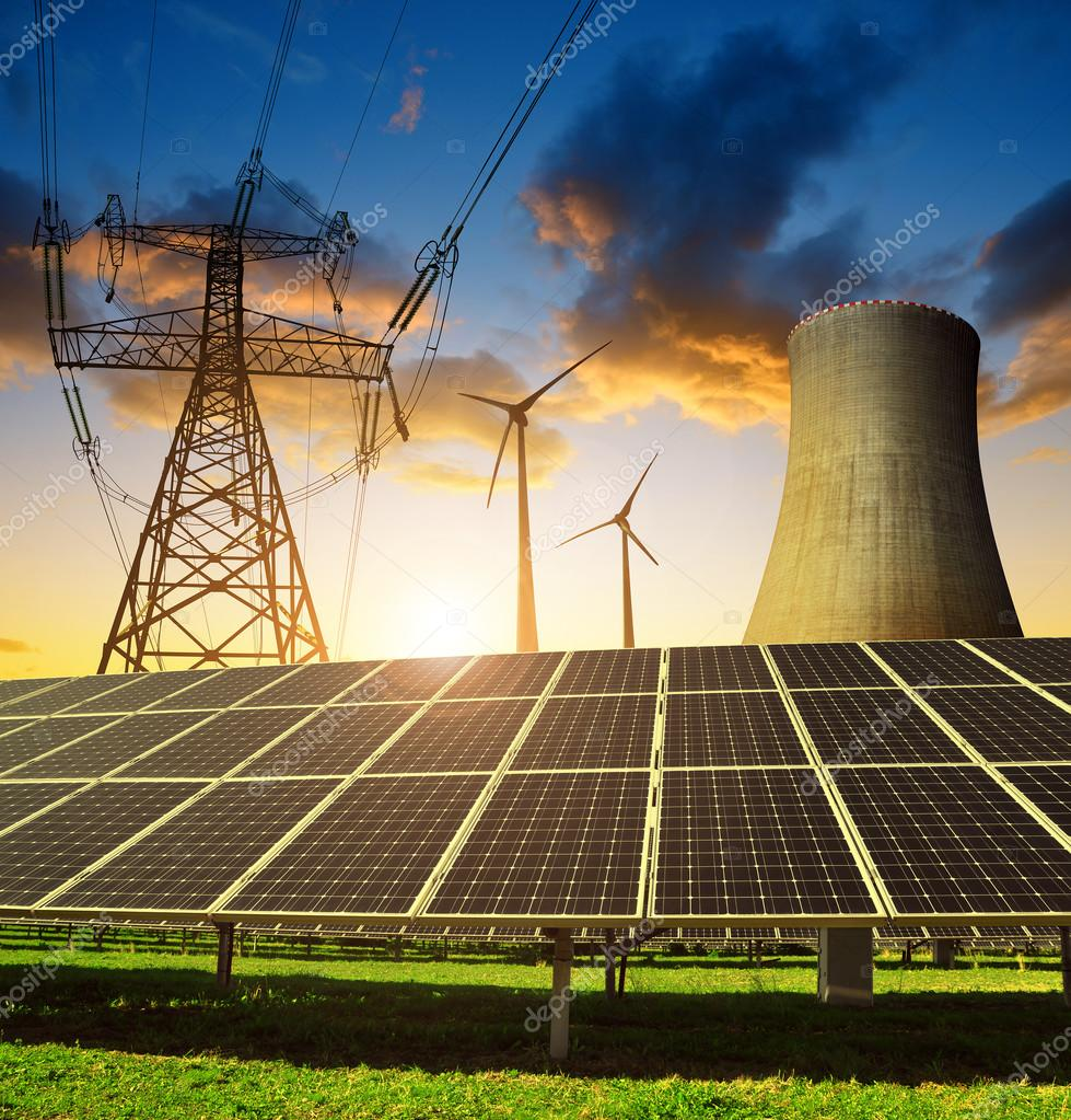 Concepto De Los Recursos Energ 233 Ticos Fotos De Stock