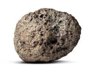 The volcanic stone