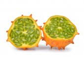 kiwano melon isolated