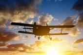 Fotografie motoru letadla, létání