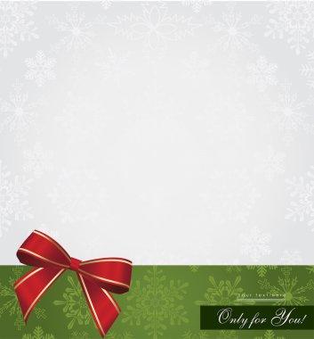 Christmas greeting cart