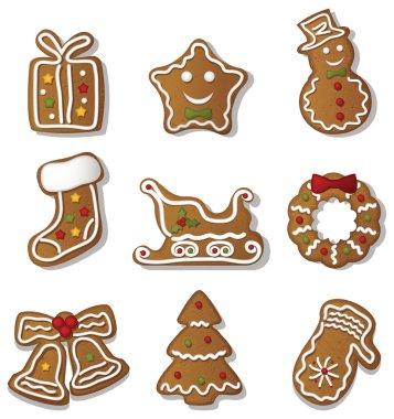 christmas Gingerbreads set