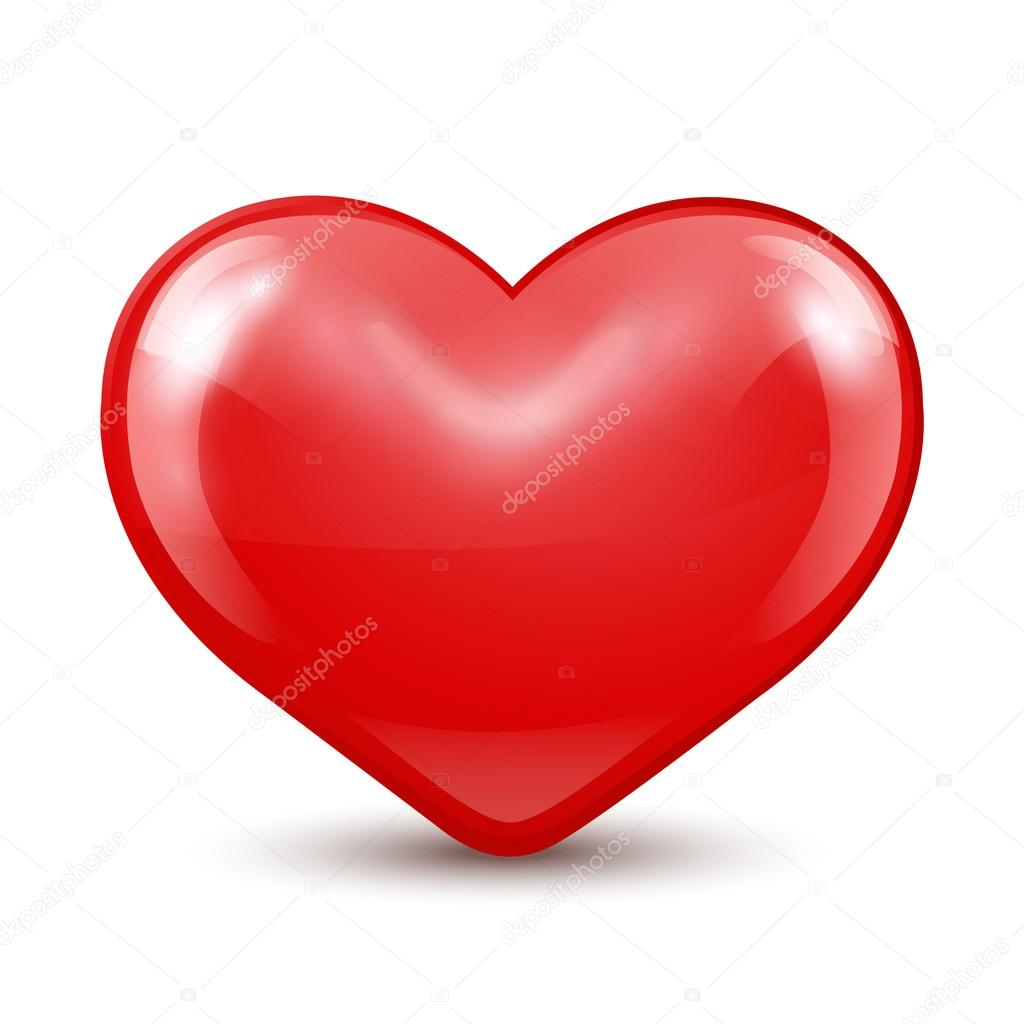 Red Heart sign.