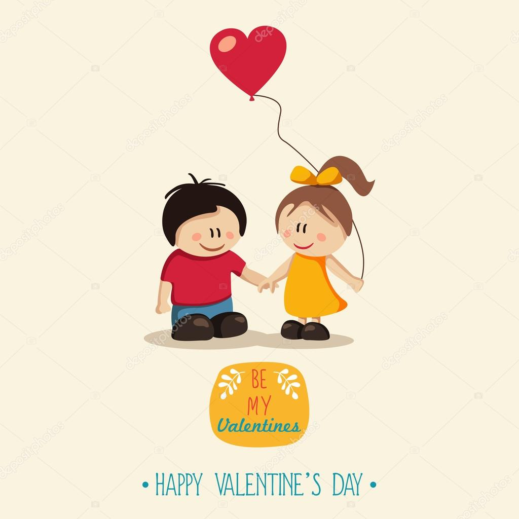 Happy Couple Valentine S Day Stock Vector C Ekler 97404742