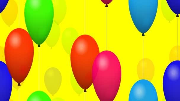 létající nafukovacích balónků