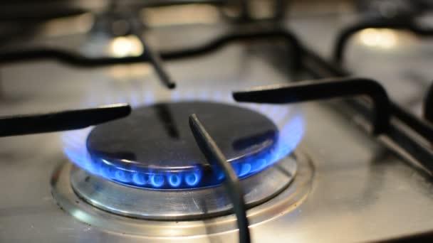 Plameny na plynový sporák hořák
