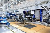 Škoda Octavia na Dopravníkové linky v továrně
