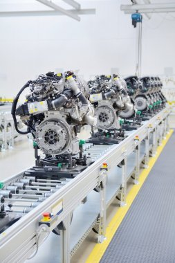 Manufacturing of the new engines