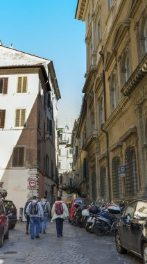 Rome, Italy, on March 6, 2015. Typical urban view