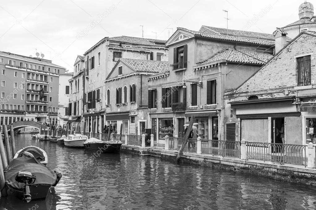 Venedig, italien - am 30. april 2015. Ein typischer ...