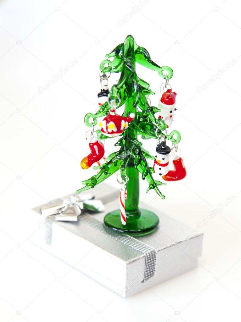New Year tree from the Venetian glass - a typical souvenir from ...