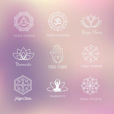 Yoga Icons - Symbols