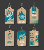Winter Sales Labels