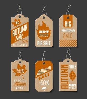 Autumn Sales Labels