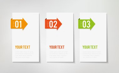 Three Steps Infographics