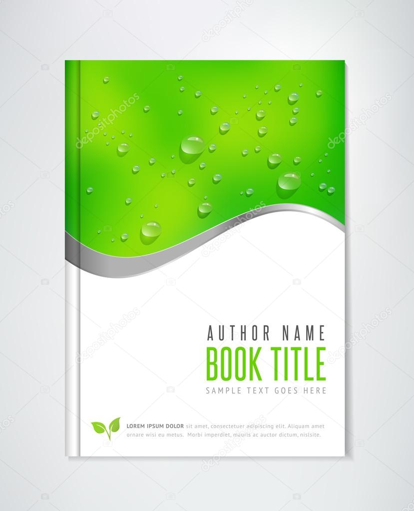 Eco Brochure - Book, Flyer or Report Template.