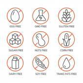 Allergene Icons - GVO frei
