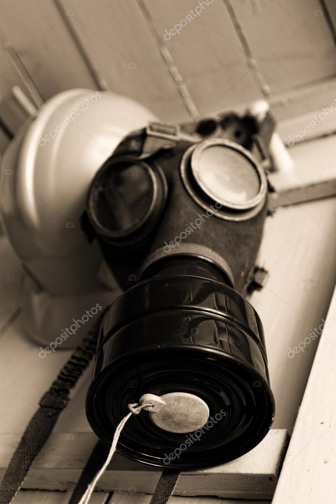 Old gas mask — Stock Photo © Adrx #53913289