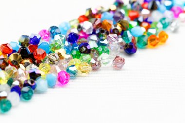 Beautiful glass beads