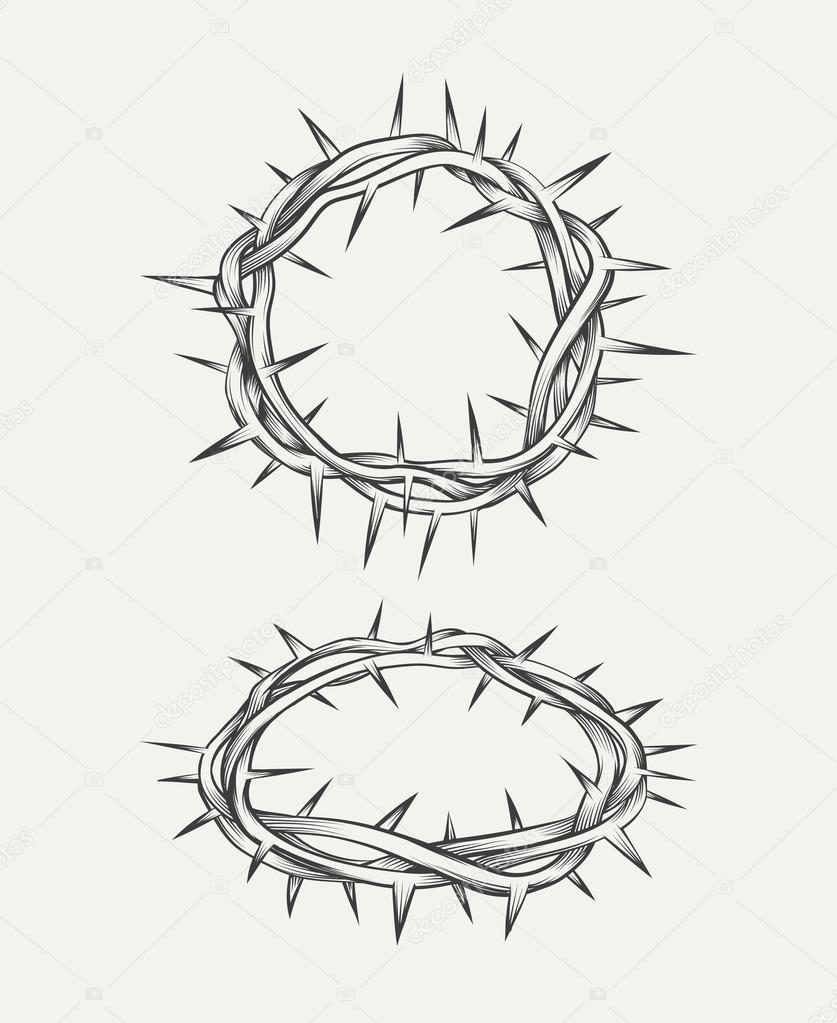 Fotos Tatuajes De Coronas De Espinas Corona De Espinas Vector