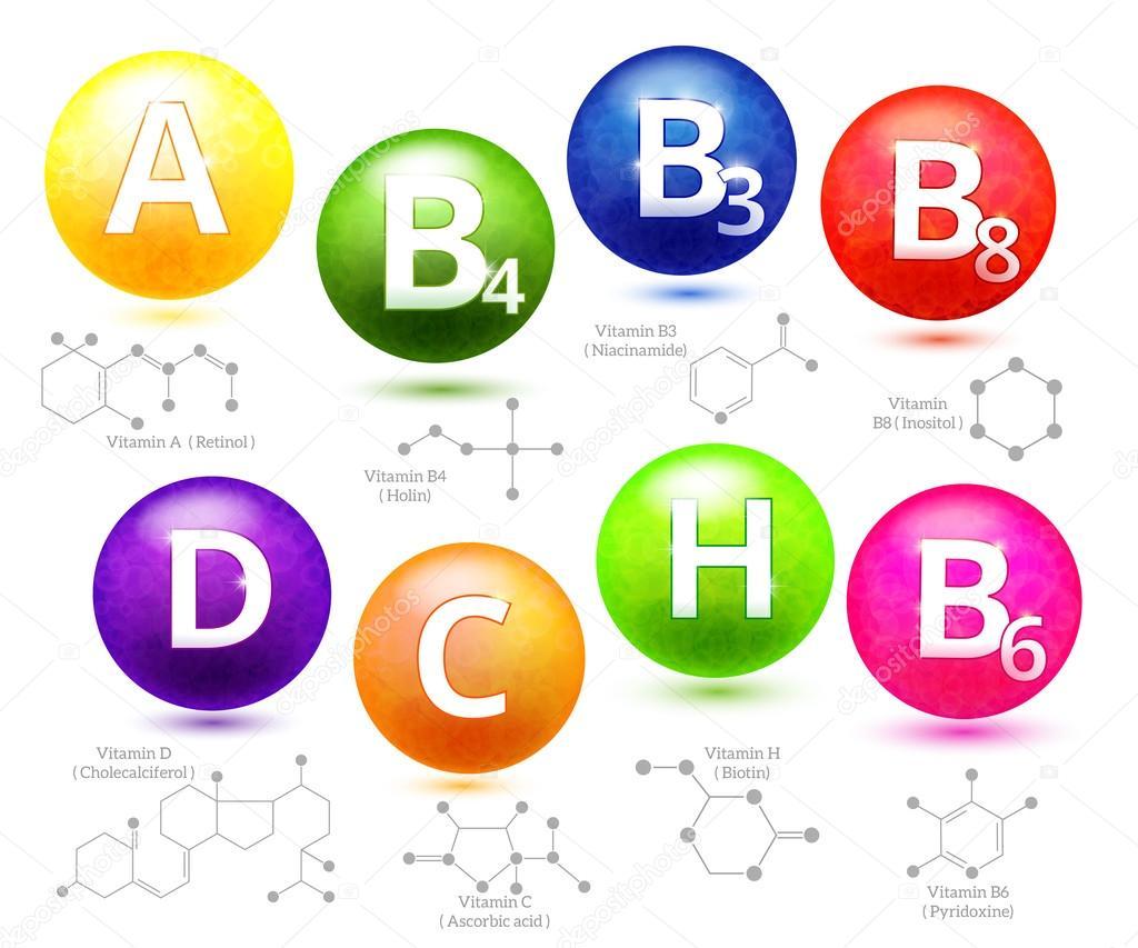 Estruturas Químicas De Vitaminas