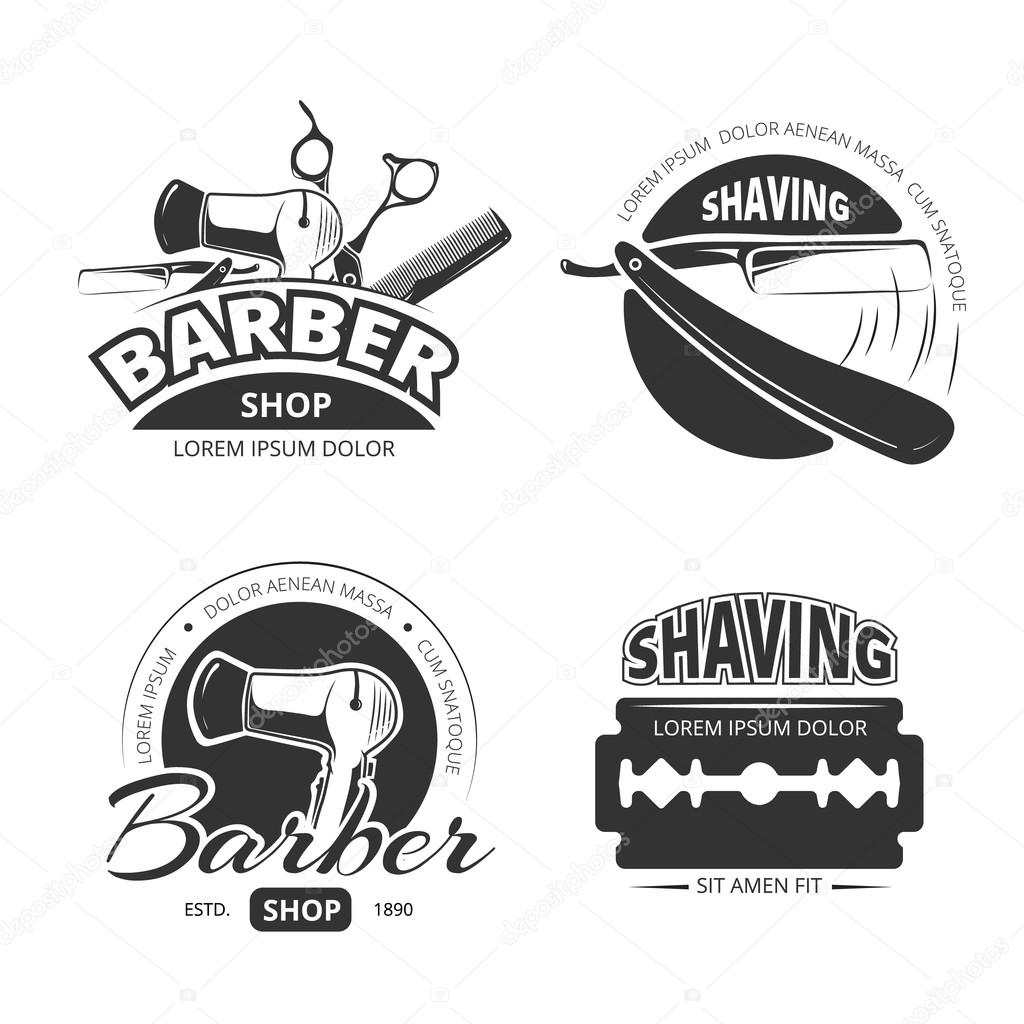 Barber Shop vector logo Torrent
