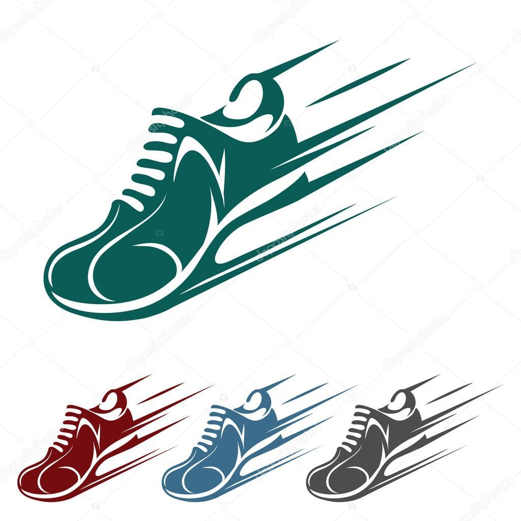 06b48d04f3a18 Zapatilla iconos a exceso de velocidad en cuatro variaciones de color con  un entrenador