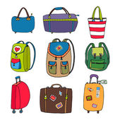 Variety Luggage  Bags  Backpacks and Suitcases