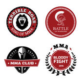 Photo MMA Labels - Mixed Martial Arts Design